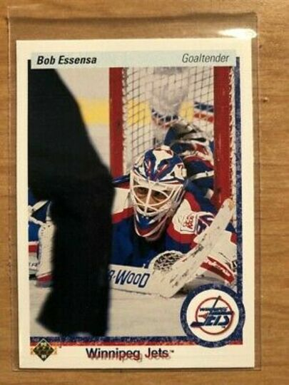 1990-91 Upper Deck Bob Essensa Rookie