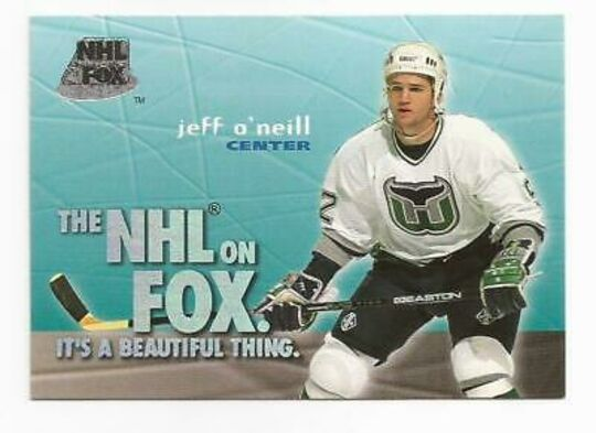 1995-96 Skybox Impact NHL on FOX #11 JEFF O'NEILL