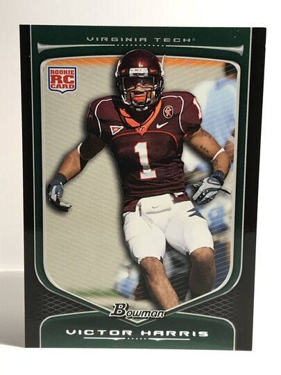 2009 Victor Harris Bowman Draft #163