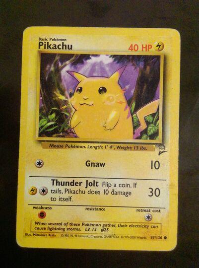 pikachu 87/130