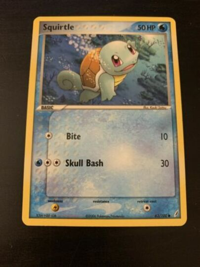 Squirtle 63/100