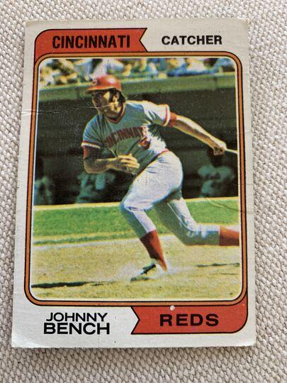 1974 topps baseball card 10
