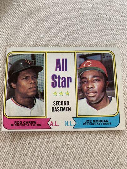 1974 topps baseball card 333