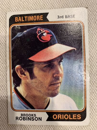 1974 topps baseball card 160