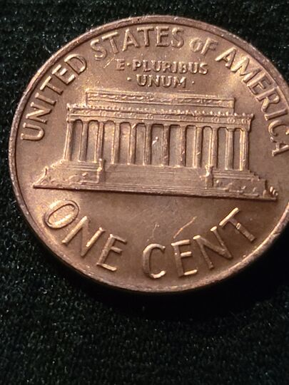 1968 s lincoln memorial penny