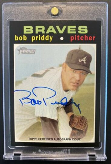 Priddy, Bob 2020 Topps Heritage