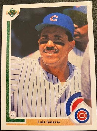 1991 Upper Deck Cubs Luis Salazar
