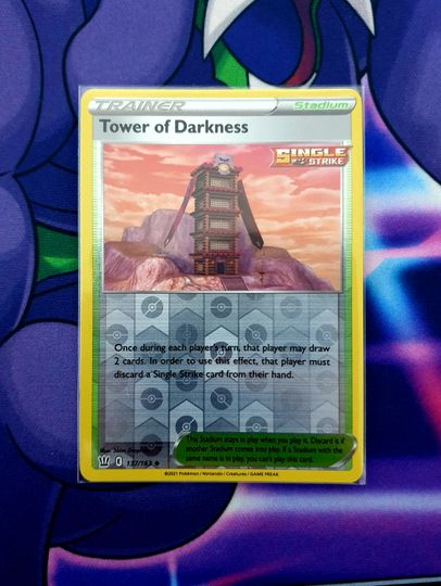 Tower of Darkness (137/163) Reverse Holo