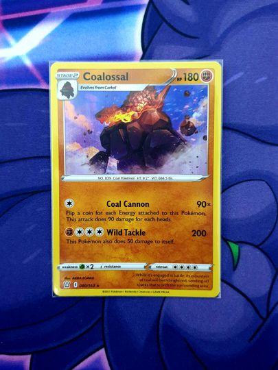 Coalossal (080/163) Holo Rare