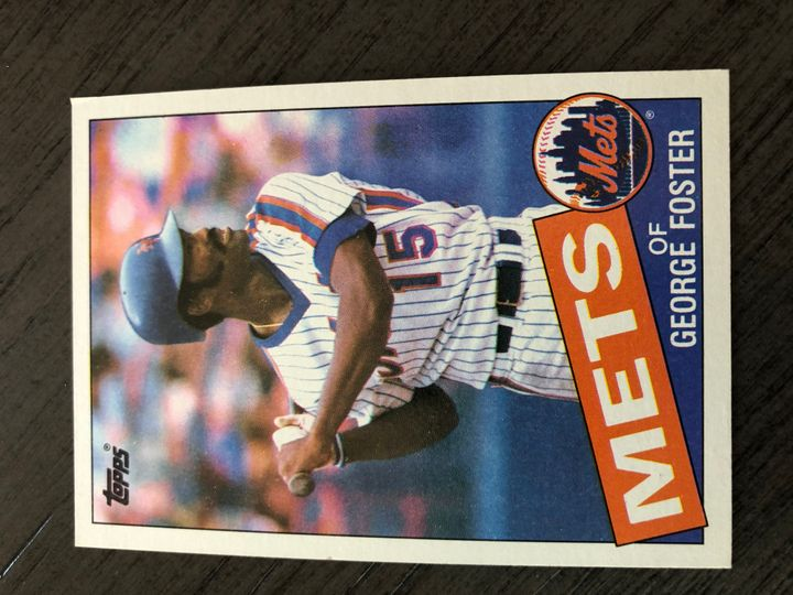 1985 TOPPS GEORGE FOSTER 170