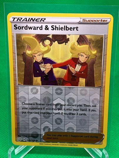 Sordward & Shielbert 135/163 Reverse Holo