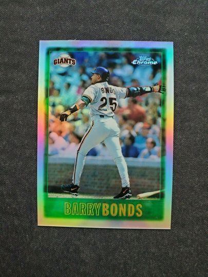 1997 topps barry bonds #1