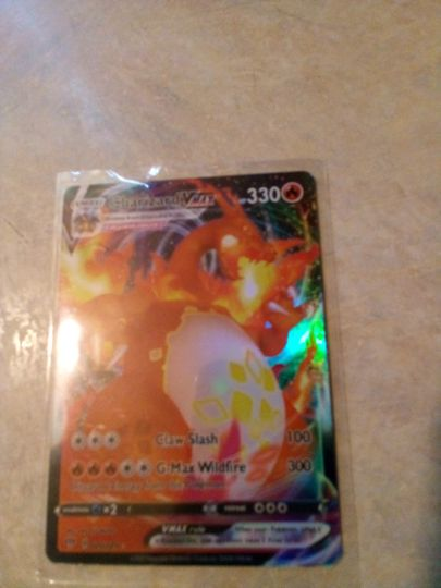 charizard Vmax 020/189 Collection Image