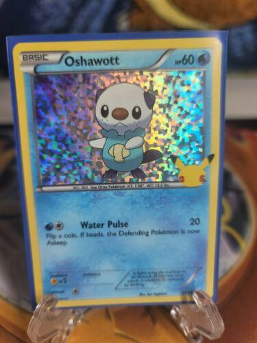 Pokémon 25th Anniversary Oshawott 21/25 McDonald's Card LP See Pics