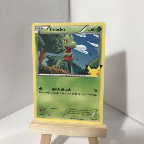 Pokemon McDonald's 25th Anniversary Treecko 3/25 HOLO & Non Holo Cards 2021 - Image 5