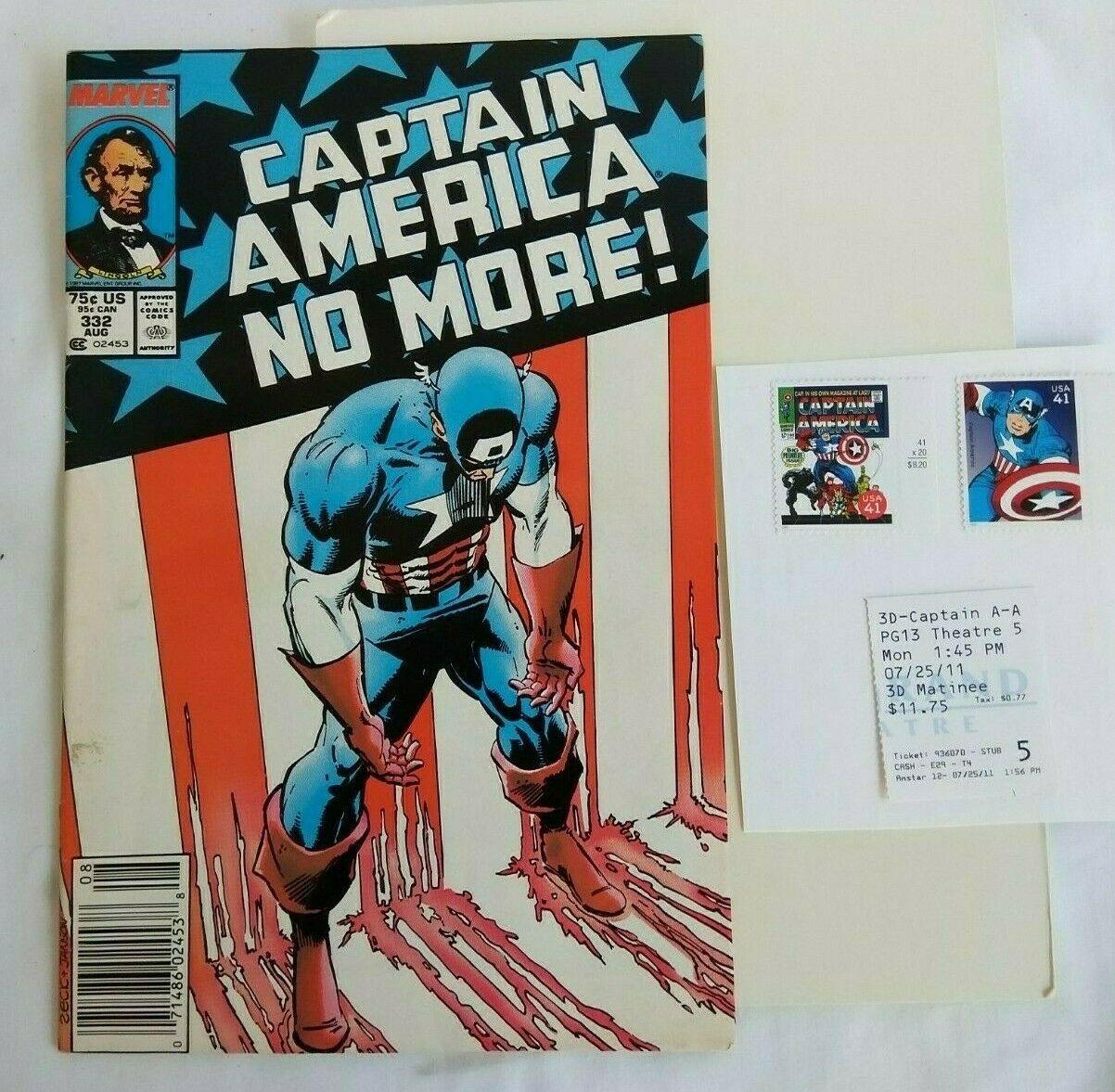 Captain America No More 332 Value 4 95 29 99 Mavin