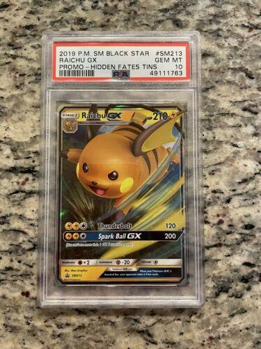 Pokemon Card TCG Raichu GX SM213 SM Promos