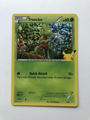 Treecko 3/25 Holo - Pokemon 25th Anniversary McDonald's Promo Card - NM/MINT!