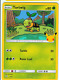 Pokemon Turtwig # 4/25 Non-Holo - 2021 McDonald's Promo - Condition: NM+
