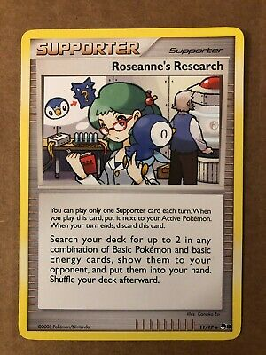 Pokemon Roseanne's Research 11/17 POP Series 8 Near Mint See Pictures - Image 1
