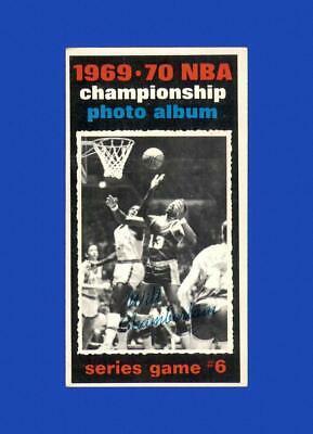 1970-71 Topps Set Break #173 Playoff G6/Wilt EX-EXMINT *GMCARDS* - Image 1
