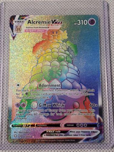 Details about  /Pokemon Alcremie VMAX Rainbow Secret Rare Shining Fates 073//072 NM//M
