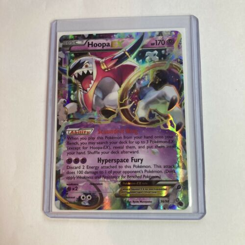 NM Pokemon HOOPA EX Card ANCIENT ORIGINS Set 36//98 XY X and Y Ultra Rare
