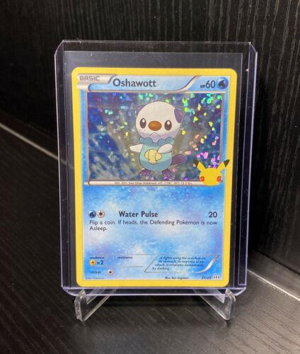 2021 Pokemon OSHAWOTT McDonald's 25th Anniversary Holo Promo Card 21/25 🔥