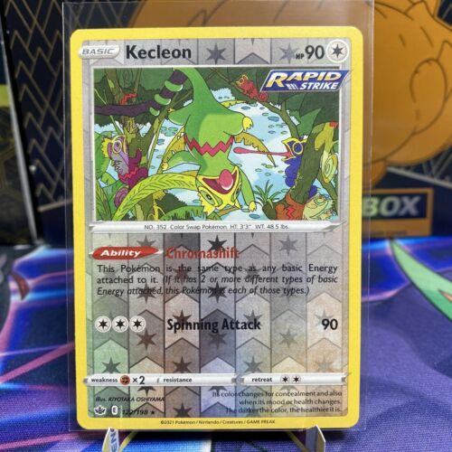 Pokemon TCG Chilling reign reverse holo Kecleon 122/198 NM