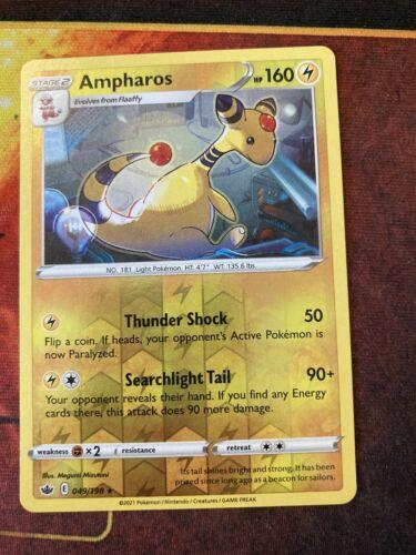 Ampharos 049/198 Pokemon TCG Chilling reign reverse holo NM