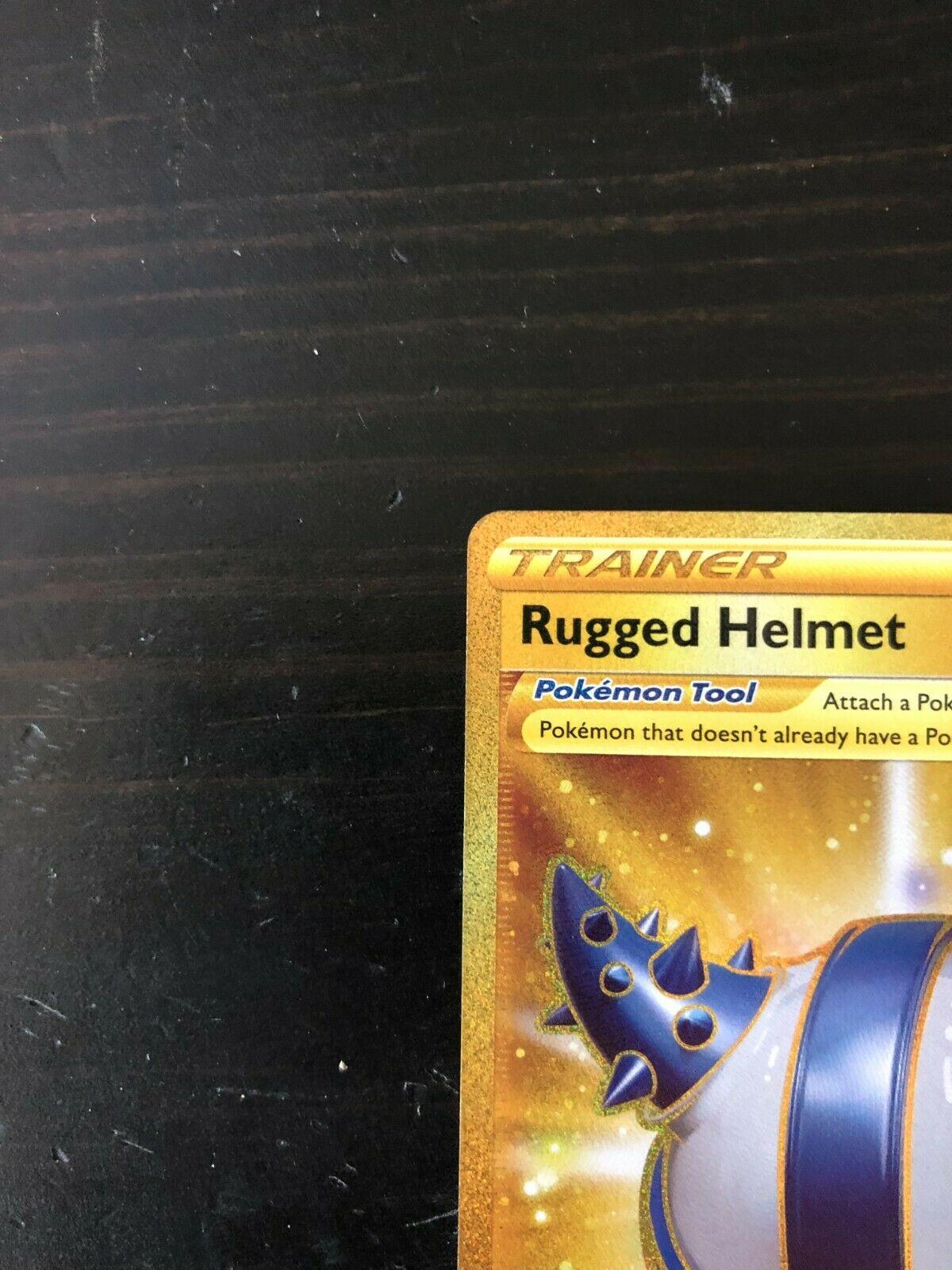 2021 Pokemon - Rugged Helmet - Chilling Reign - Secret Rare - 228/198 - NM - Image 3