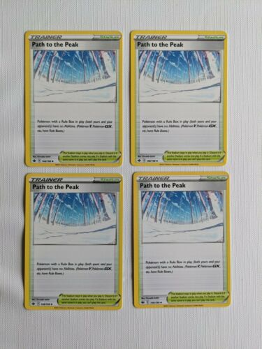 Pokemon Chilling Reign Path to the Peak 148/198 Playset