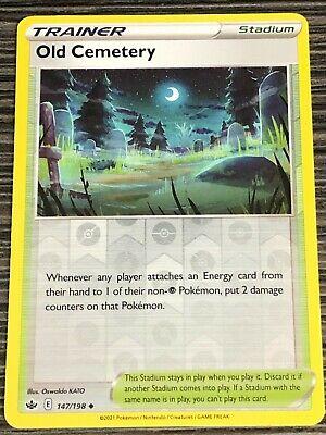 Pokemon : SWSH CHILLING REIGN OLD CEMETERY 147/198 UNCOMMON REVERSE