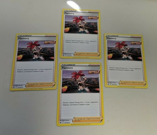 x4 Flannery - 139/198 - Uncommon - Pokemon SS06 Chilling Reign M/NM