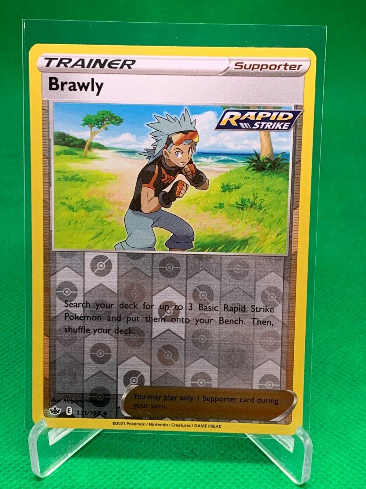 Pokemon - Brawly - Chilling Reign - 131/198 - Reverse Holo