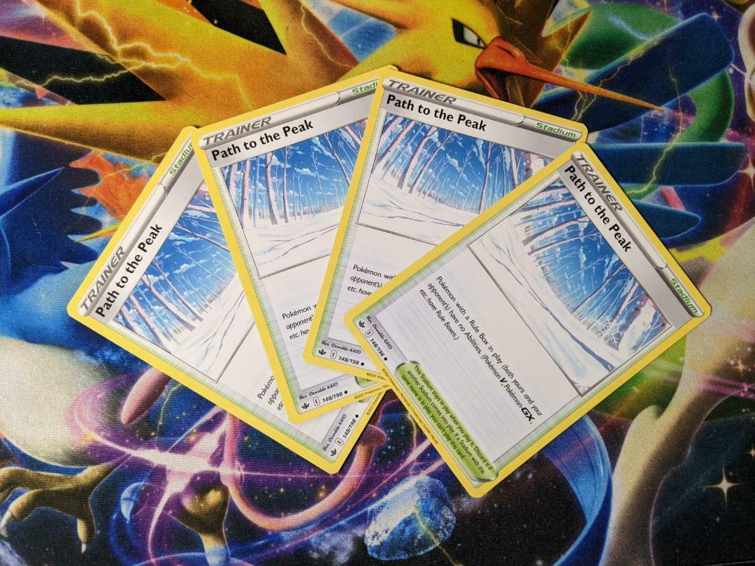 4x Path To The Peak 148/198  Playset - Chilling Reign - Fast Free Shipping!