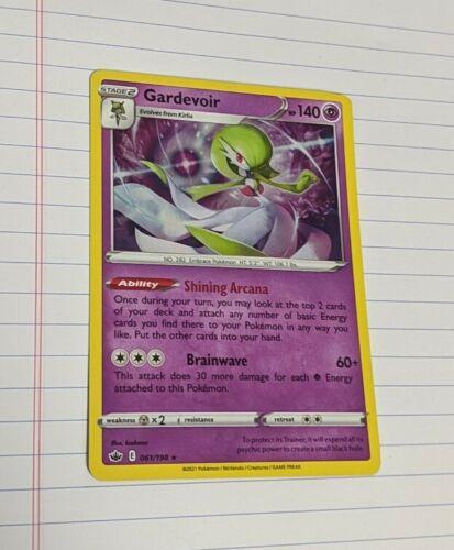Pokemon - Gardevoir - 061/198 - SWSH Chilling Reign - Holo Rare - Near Mint