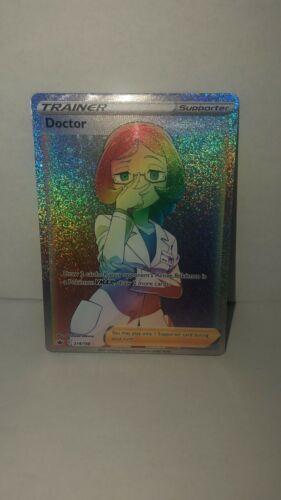Pokemon, Chilling Reign, Doctor 214/198, SECRET RARE