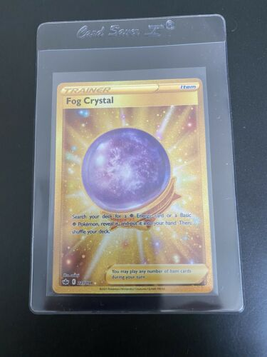 Fog Crystal 227/198 Gold Secret Rare Chilling Reign Pokemon TCG!  Fresh!
