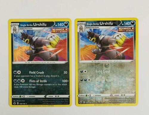 Pokemon - Single Strike Urshifu - 108/198 - Holo & Reverse Holo - Chilling Reign