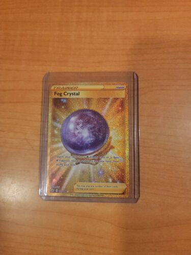 Pokemon - Fog Crystal - Gold Secret Rare Trainer - Chilling Reign 227/198 NM Tcg