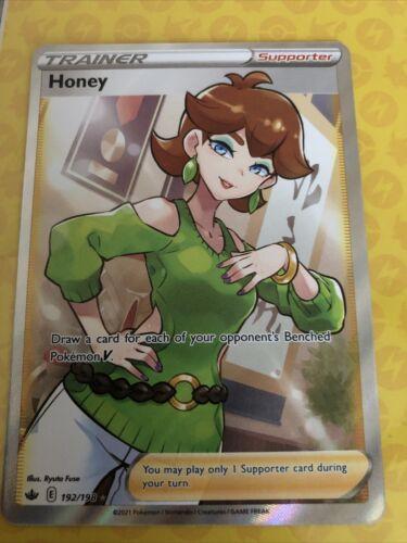 Pokemon Chilling Reign Trainer Honey #192/198 Full Art