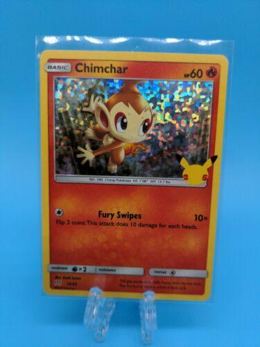 Chimchar 12/25 Holo McDonald's 25th Anniversary Pokemon TCG Near Mint