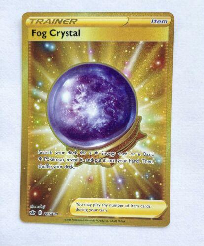 Pokemon : SWSH CHILLING REIGN Fog Crystal 227/198 SECRET RARE NM