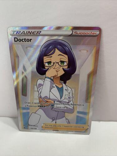 Doctor 190/198 Ultra Rare Full Art Trainer Pokémon Chilling Reign MINT Fresh