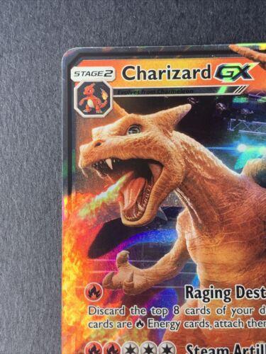 Pokemon Charizard GX SM195 -ULTRA RARE HOLO PROMO CARD Detective Pikachu NM - Image 5