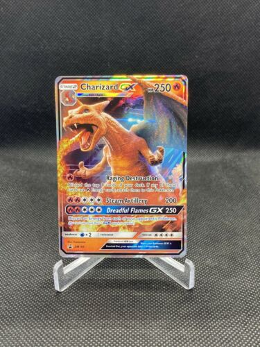 Pokemon TCG Detective Pikachu Charizard GX Black Star Promo SM195 NM Card