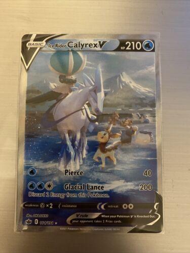 Ice Rider Calyrex V Alternate Art - Chilling Reign NM 164/198