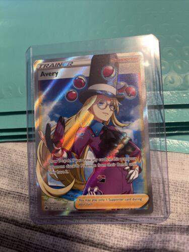 Avery 187/198 Full Art 💫 Holo Rare Chilling Reign ❄️ Pokemon Card Mint