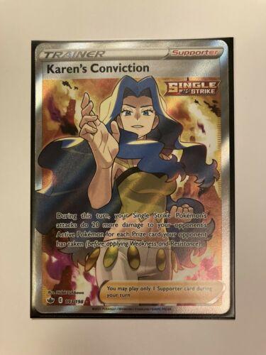 Karen's Conviction (Full Art) 193/198 Chilling Reign